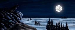 Silent Moonlighting - digital art, digital painting, painting, ars caelestialis