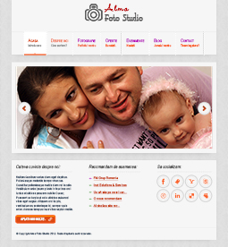Alma Foto Studio - graphic design, ux elements, ui elements, graphic design elements