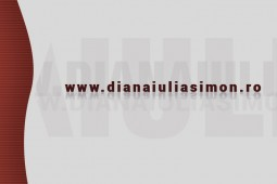 Diana Iulia Simon business card back - graphic design, ux elements, ui elements, graphic design elements